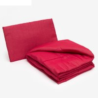 Комплект в кроватку для девочки (одеяло 110*140 см, подушка 40*60 см), цве
