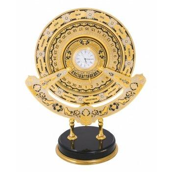Вечный календарь время бесценно (английская версия)