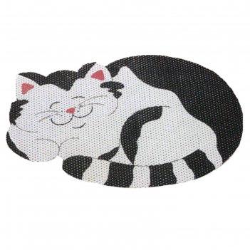 Коврик фигурный funny кот