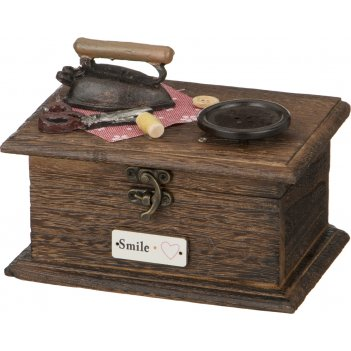 Шкатулка для рукоделия 15*11*10 см (кор=48 шт.)