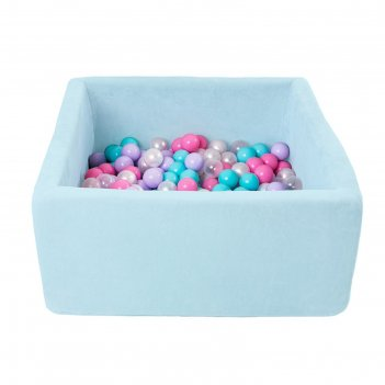 Сухой бассейн airpool box без шариков, цвет голубой дмф-мк-02.55.02