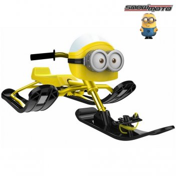 37018 снегокат snow moto minion despicable me yellow