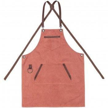 Фартук craft, цвет красно-розовый