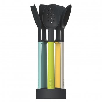Набор силиконовых кухонных инструментов elevate оpal, на подставке