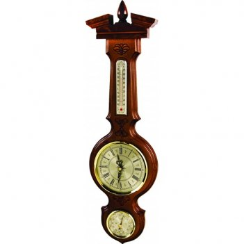 Метеостанция бм-94 (смич) часы барометр тер