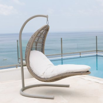 Подвесное кресло skyline design calderan christy, садовая мебель