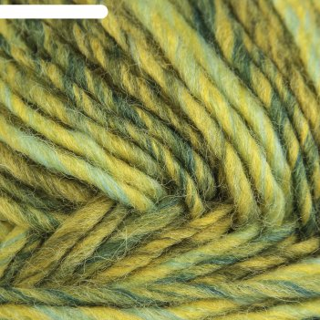 Пряжа ровница мультиколоровая 50% шерсть, 50% акрил 400м/200гр (1090 м)