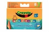 Восковые мелки 8 для самых маленьких  crayola