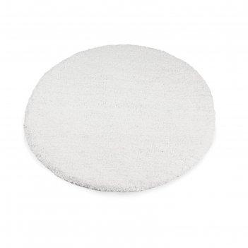 Коврик для ванной, комнаты диаметр 80 см fairytale white