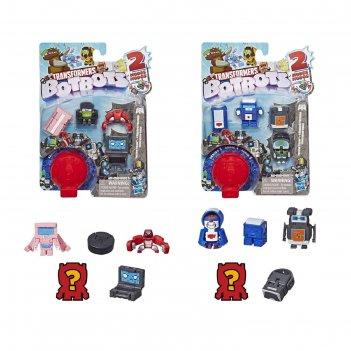 Игровой набор hasbro transformers «ботботс», 5 трансформеров, микс