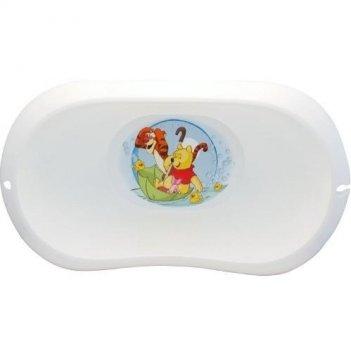 Детская белая ванночка винни  2589-д