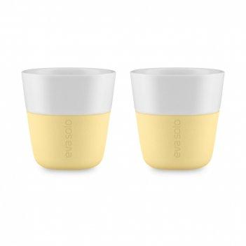 Набор из 2-х чашек для эспрессо lemon, объем: 80 мл, материал: фарфор, сил