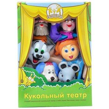 Кук. театр репка, 6 кукол