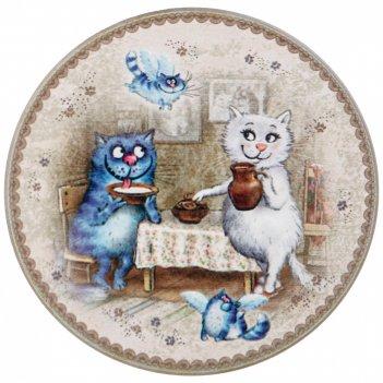 Подставка под горячее коллекция blue cats диаметр=10,3 см