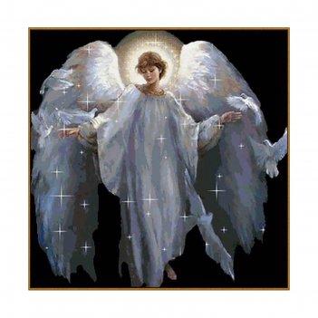 Алмазная мозаика ангел, 41 цвет
