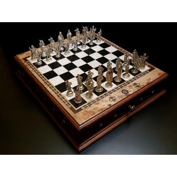 Шахматы подарочные аристократ клен антик