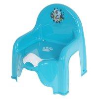 Горшок-стульчик детский disney бирюзовый м 2596-д
