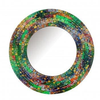 Зеркало яркий круг