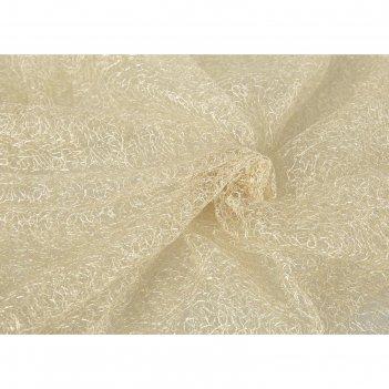 Ткань тюлевая, ширина 295 см, сетка