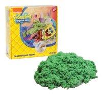 1toy губка боб, космический песок, зелёный 0,5 кг