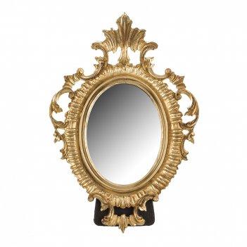Зеркало настольное 21*15/10,5*7,5 см.