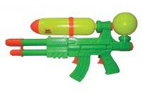 Тилибом вод.пистолет с 2 отверстиями,2 курками и помпой 49х26см.пак.с хед.