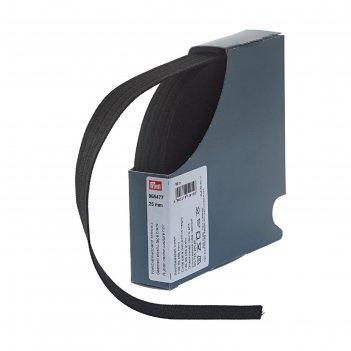 Эластичная лента для уплотнения шва 25 мм 10м, цвет черный