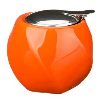 Сахарница 300 мл.оранжевая (кор=24шт.)