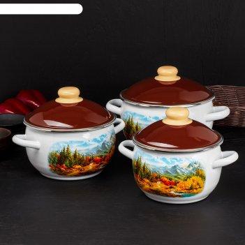 наборы посуды от стальэмаль