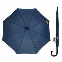 Зонт полуавтоматический «однотонный», 8 спиц, r = 56 см, цвет синий