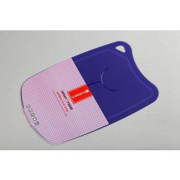 Доска термопластиковая с антибактериальным покрытием (сиреневый) samura