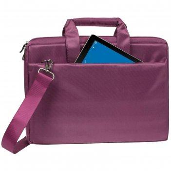 Сумка для ноутбука 15,6 rivacase 8231 38,5*26,5*4,5см, полиэстер, пурпурны