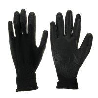Перчатки садовые нейлон латекс (10 размер) черные