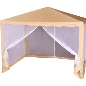1040 green glade шатер для дачи (беседка) 3х3х2,5 м