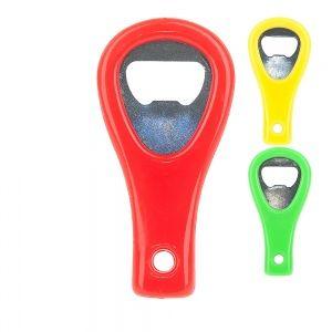 Открывалка 5*0,5*10см. (3вида) (нержавеющая сталь, пластик) (упаковочный п