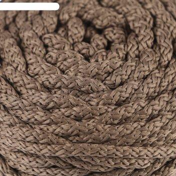 Шнур для вязания с сердечником 100% полиэфир, ширина 5 мм 100м/550гр (37 т