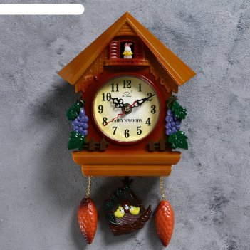 Часы настенные с кукушкой зайчонок