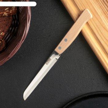 Нож для овощей «традиционный», лезвие 10,7 см, деревянная рукоять