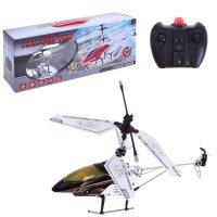 Вертолет радиоуправляемый гроза неба, с аккумулятором, световые эффекты, р