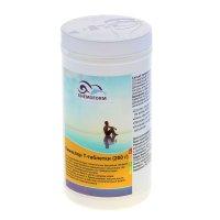 Хлорные таблетки для длительной дезинфекции воды в бассейне кемохлор т-таб