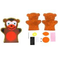 Набор для творчества - кукольный театр из фетра обезьянка