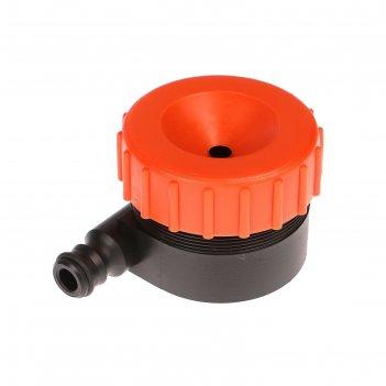 Распылитель-дождеватель, под коннектор, пластик, «жук»
