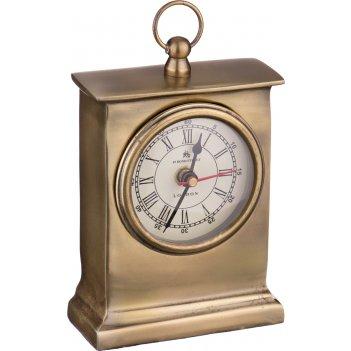 Часы настольные антик 11*4 см. диаметр=8 см высота=19 см. (кор=16шт.)