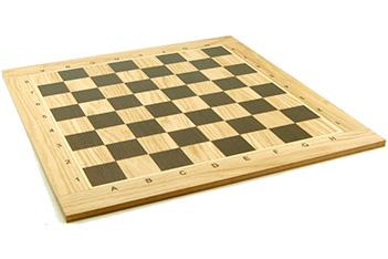 Доска шахматная турнирная 50мм, дуб