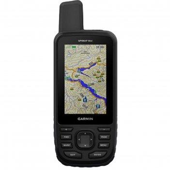 Gps-навигатор garmin gpsmap 66st russia (010-01918-14), 3, дороги рф, топо