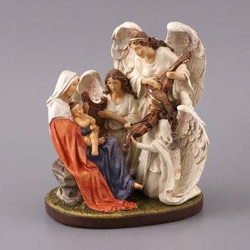 Статуэтка семья ангелов 18*13,5*22 см