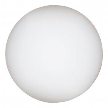 Настольная лампа a6025lt-1wh sphere 1x60w e27 25x25x25 см