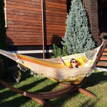 Гамак двухместный lite sun flower для хобби и пикника