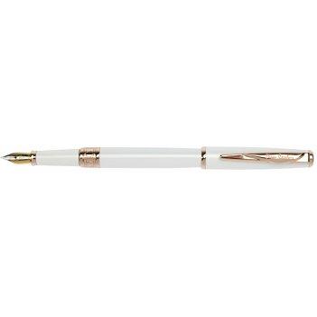 Перьевая ручка pierre cardin,secret business, цвет - белый. перо - сталь.