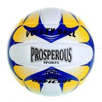 Мяч волейбольный prosperous р.5 18 панелей, pu, бутило камера, 250гр, цвет